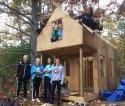Shaker Road School girls building project