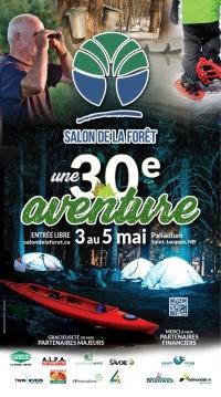 30th edition of the ��Salon de la forêt