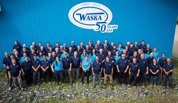 Celebrating 50 years, Team photo